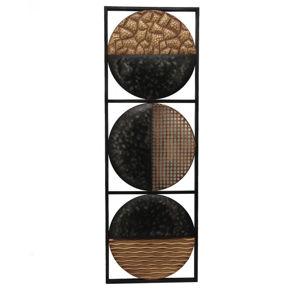 Ambia Home DEKORACE NÁSTĚNNÁ, 30,5/90 cm, - černá, barvy zlata