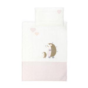 Patinio DĚTSKÉ POVLEČENÍ, žerzej, pink, béžová, 100/135 cm - pink, béžová