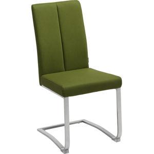 Houpací Židle Zelená Barvy Nerez Oceli Xora