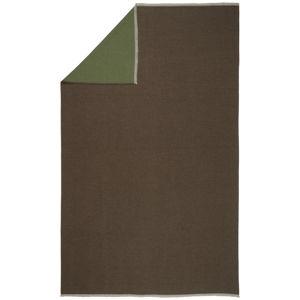 Novel MĚKKÁ DEKA, 140/210 cm, hnědá, zelená - hnědá, zelená