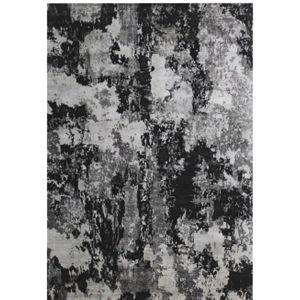Orientální Koberec 90/160 Cm Černá Bílá Esposa