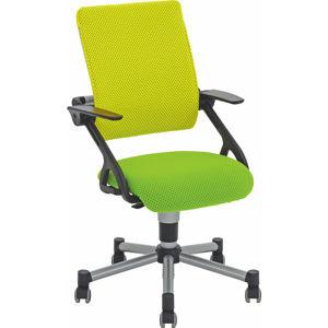 Otočná Židle Žlutá Světle Zelená Paidi