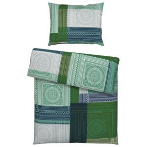 Novel POVLEČENÍ, renforcé, smaragdově zelená, 140/200 cm - smaragdově zelená