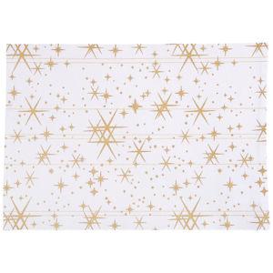 X-Mas PROSTÍRÁNÍ - bílá, barvy zlata