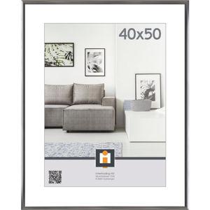 RÁM 40X50CM, barvy stříbra - barvy stříbra