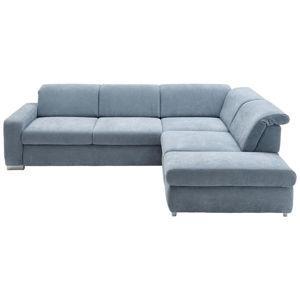 Beldomo Style SEDACÍ SOUPRAVA, textil, světle modrá - světle modrá