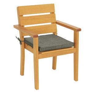Stohovatelná Židle Přírodní Barvy Ambia Garden
