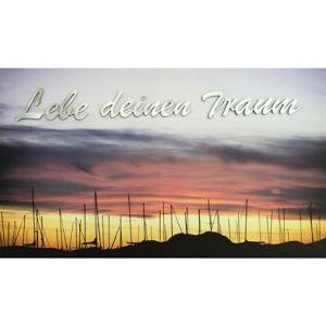 Monee TISK UMĚLECKÝ, krajina & příroda, 120/70 cm, - černá, barvy hliníku, světle červená