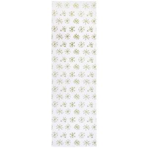 Ubrus 'běhoun' Na Stůl 45/150 Cm Bílá Esposa