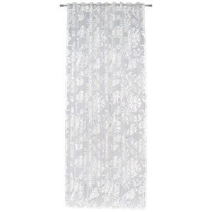 Esposa ZÁVĚS, průhledné, 140/245 cm - bílá