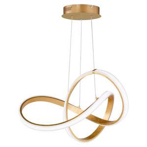 Ambiente ZÁVĚSNÉ LED SVÍTIDLO, 55/150 cm - barvy zlata